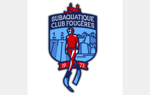 Dossier d'inscription au Subaquatique Club de Fougères saison 2020-2021